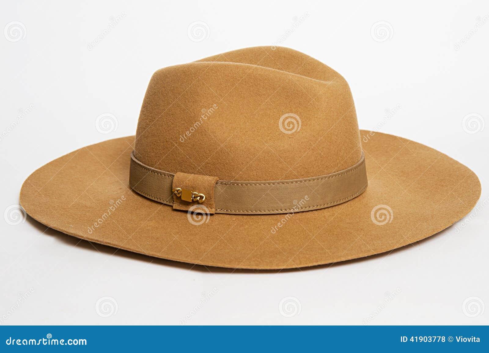 Sombrero en un blanco