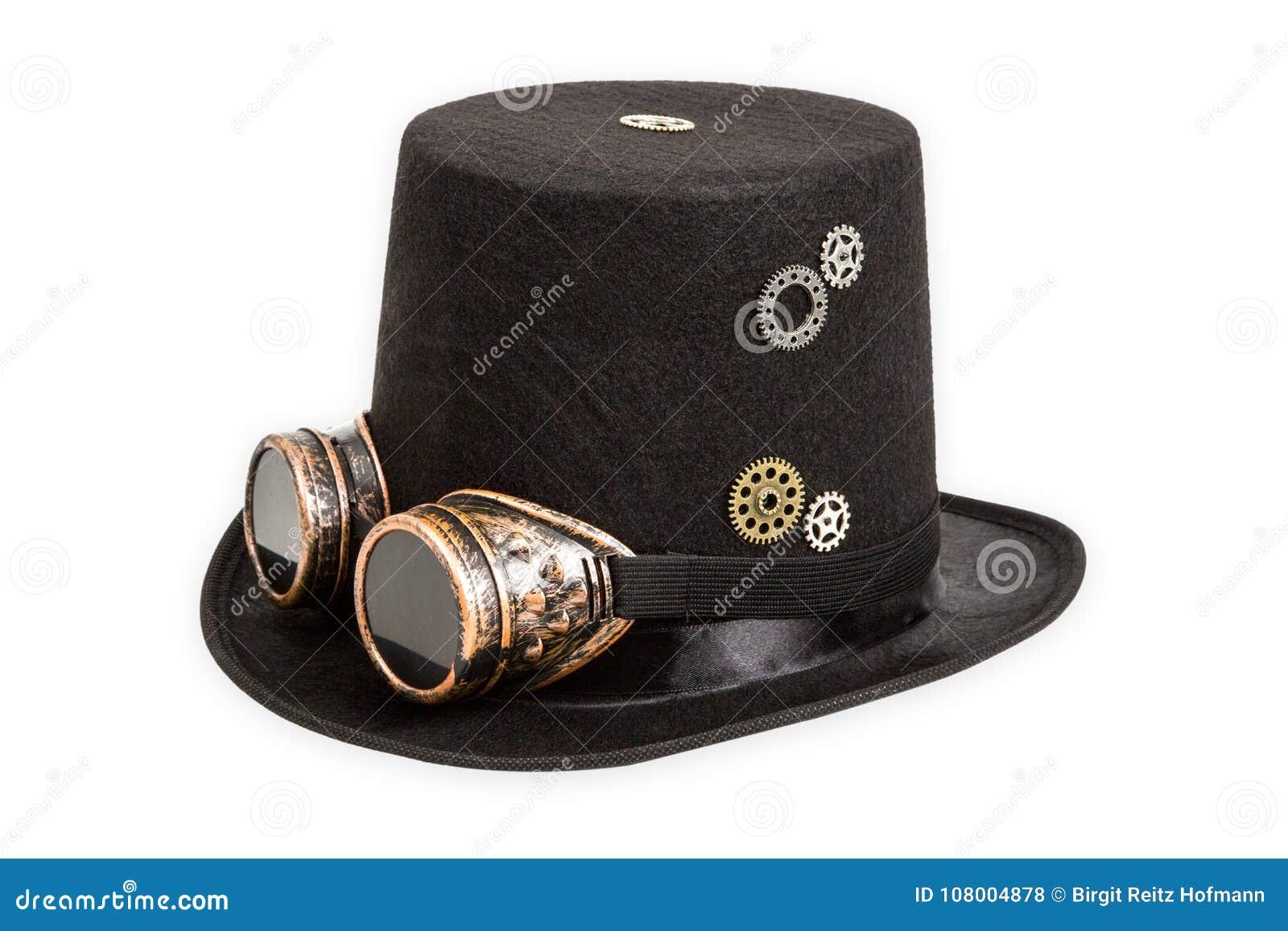Sombrero Extraño De Steampunk Foto de archivo - Imagen de punky ... 6f6cdfc48b5