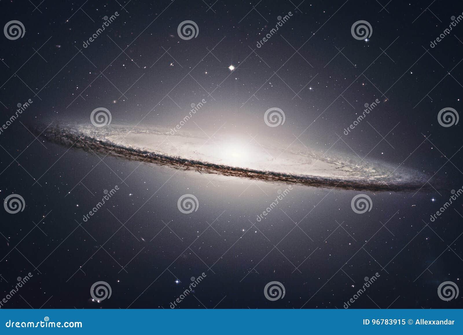 Sombrero Galaxy M104 In Constellation Virgo Stock Image Image Of
