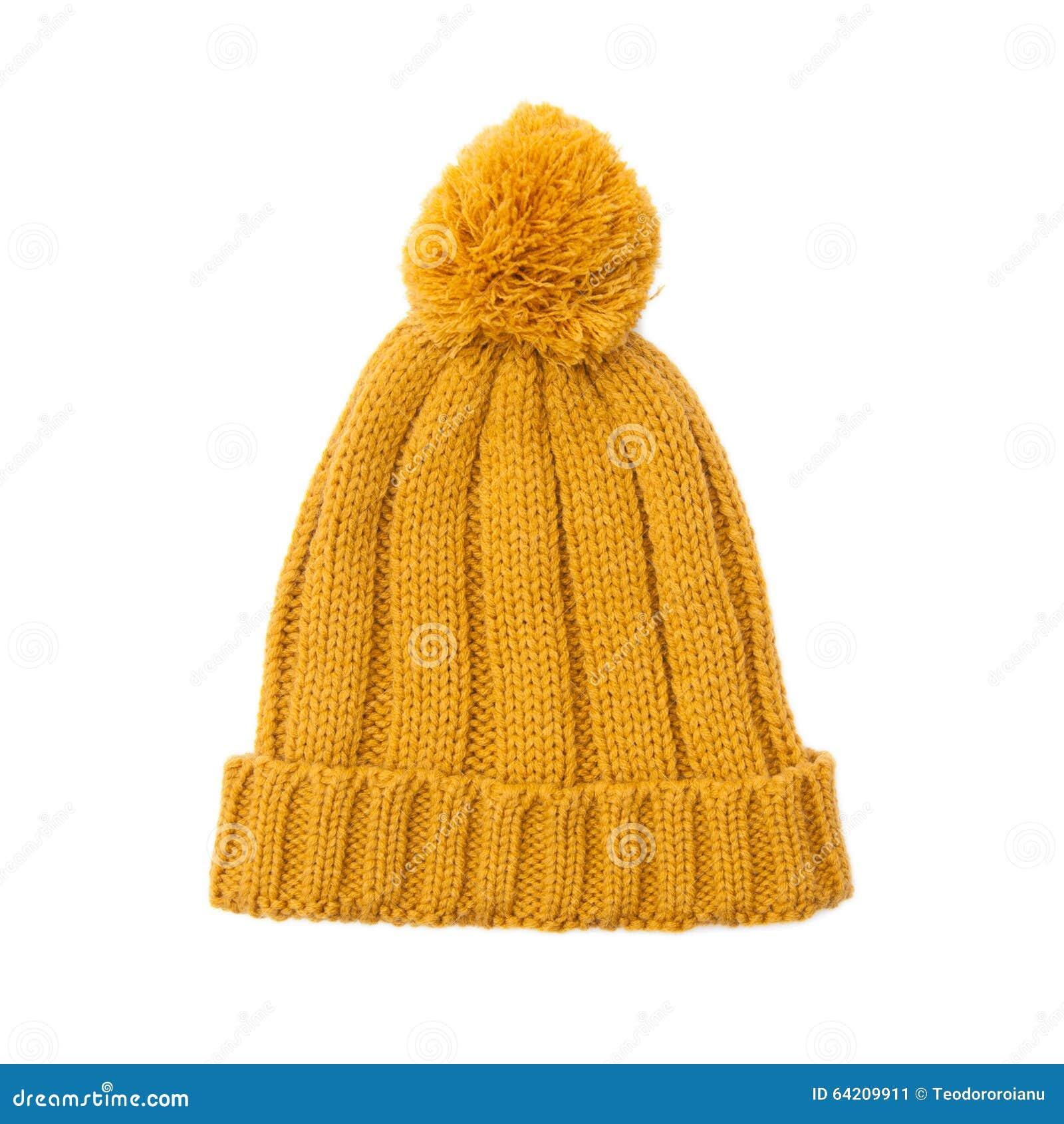 Sombrero hecho punto de las lanas