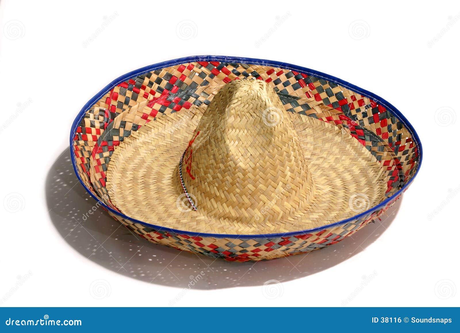 Download Sombrero-Hut stockfoto. Bild von hombre, spaß, spitze, bunt - 38116