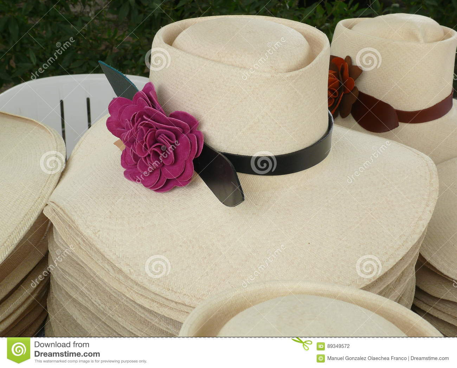 600550b229fe1 Sombrero Peruano Del Caballo De Paso De La Mujer Foto de archivo ...