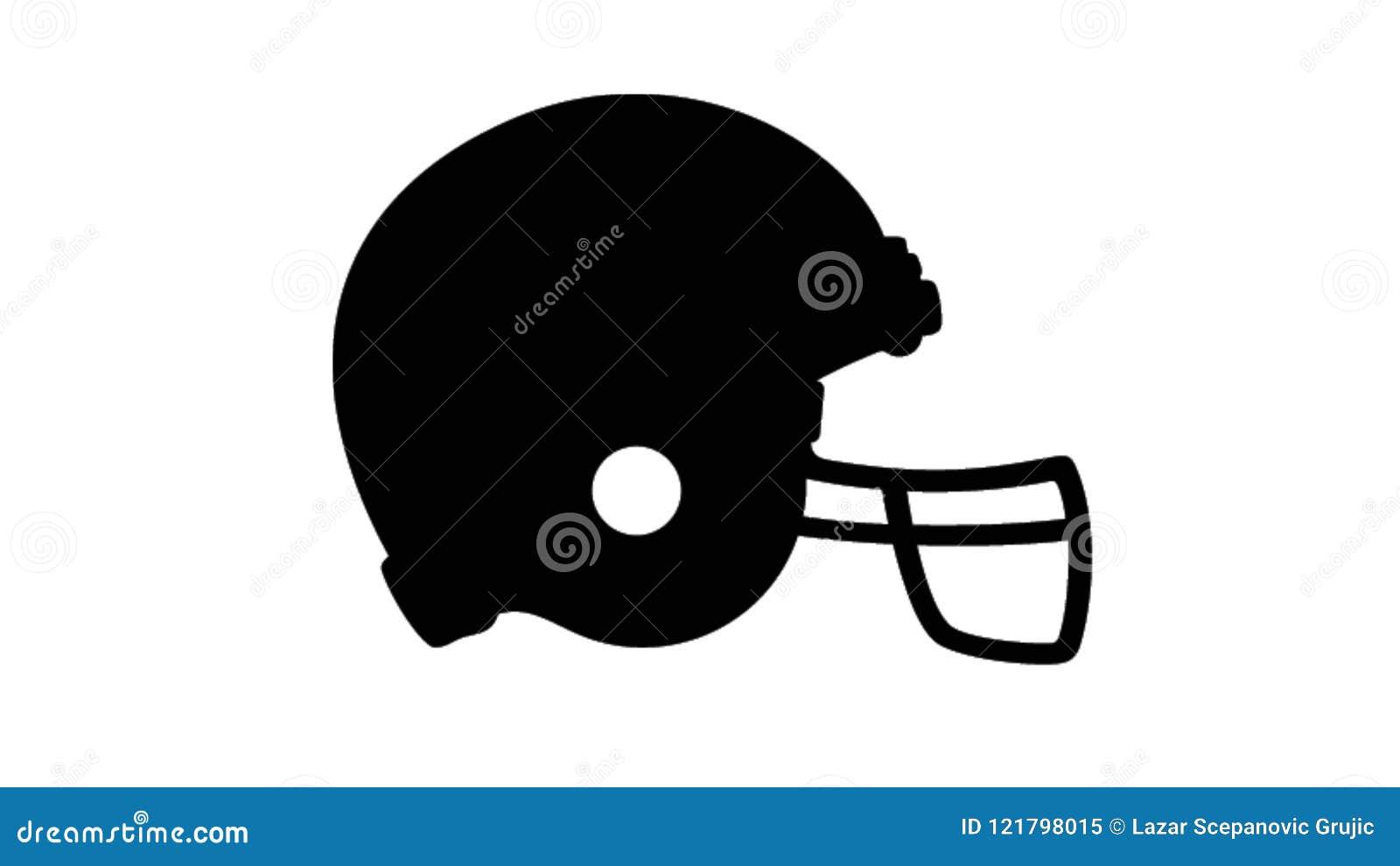 Sombrero protector del fútbol simple