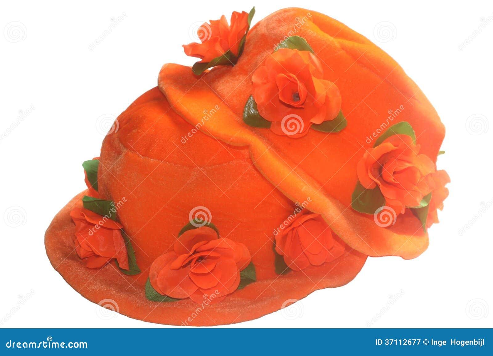 Sombreros anaranjados para Kingsday y WC 2014, Países Bajos