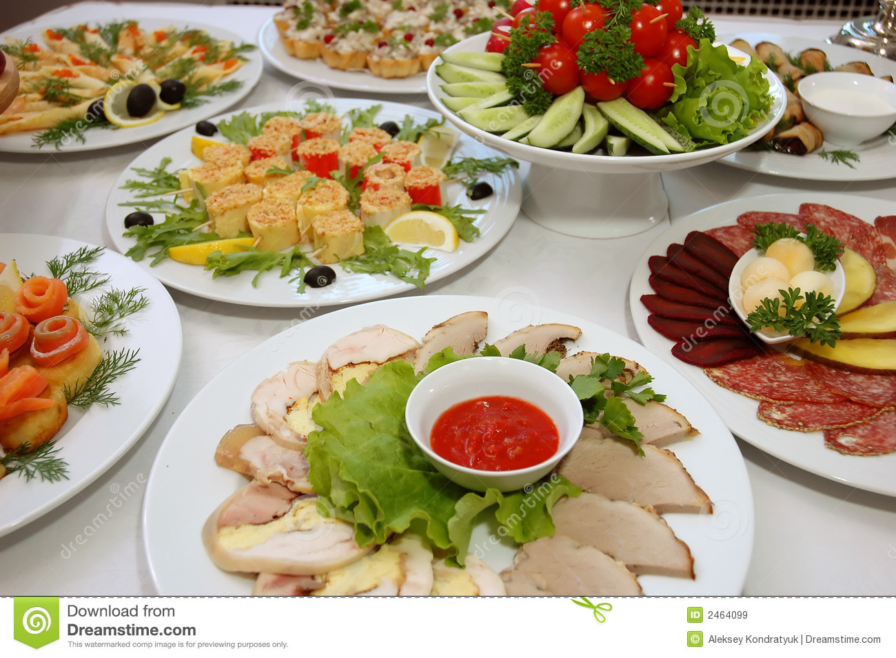 Some Appetizing Food Royalty Free Stock Images Image