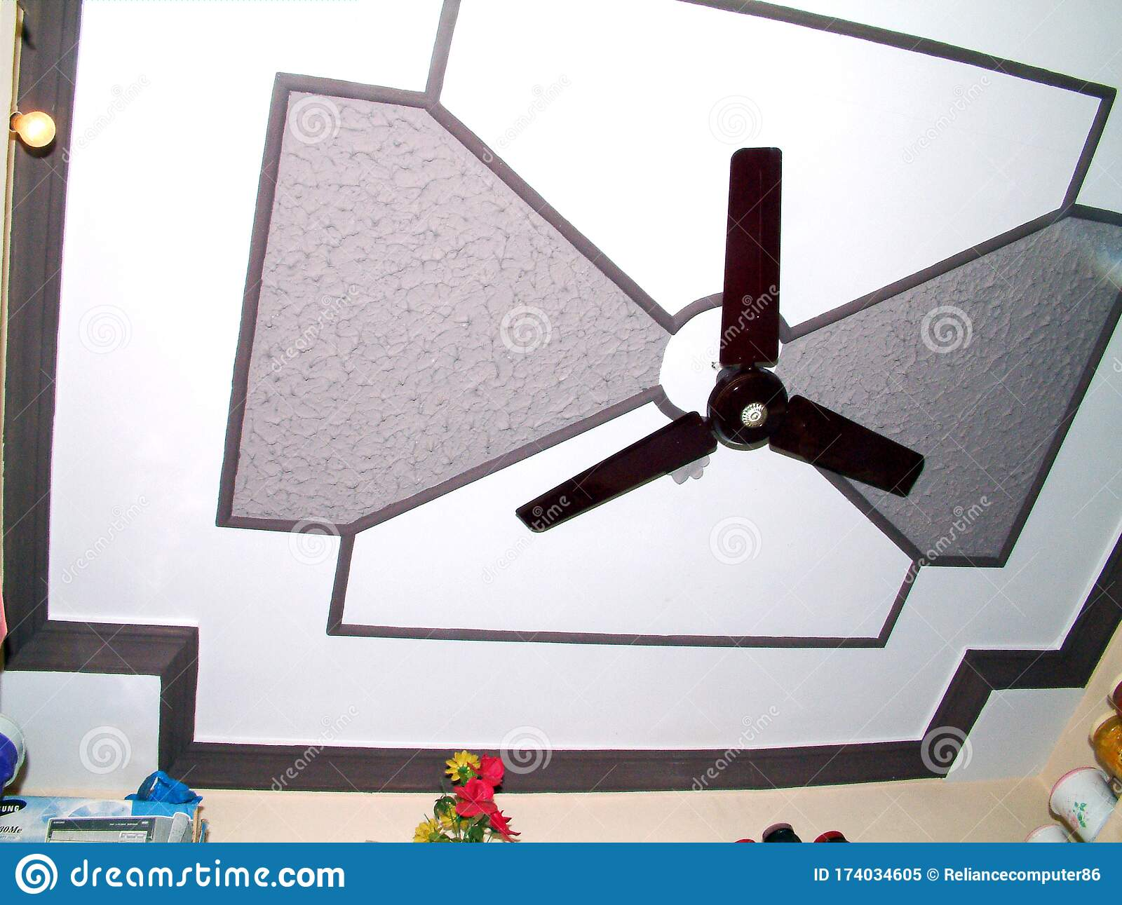 Search Results Images For Pop Ceiling Design Some Creative Interior Design Ideas Stock Image Image Of Living Hall 174034605