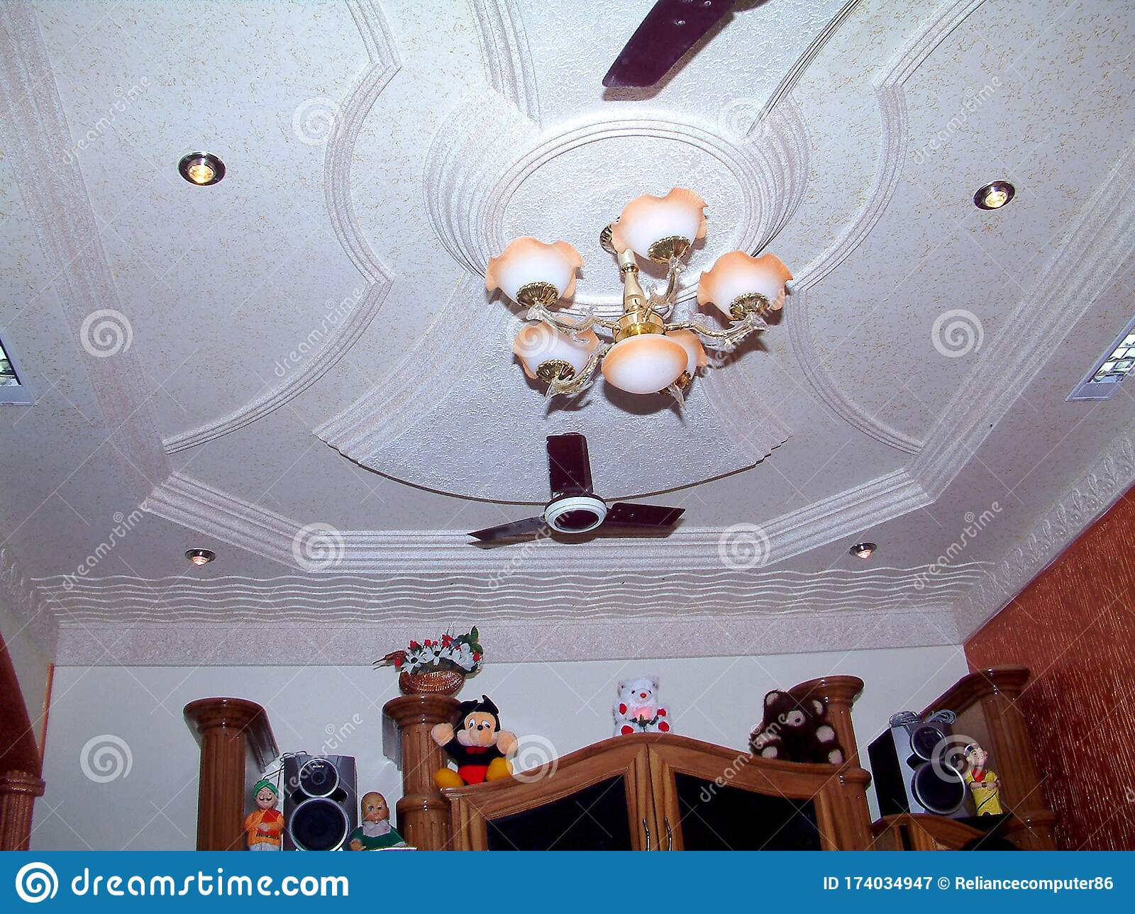 Search Results Images For Pop Ceiling Design Some Creative Interior Design Ideas Stock Image Image Of Ceil Picture 174034947
