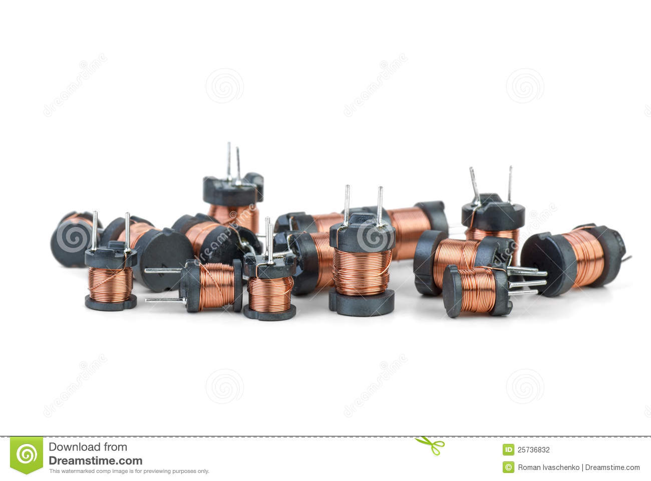 Some tiny inductors