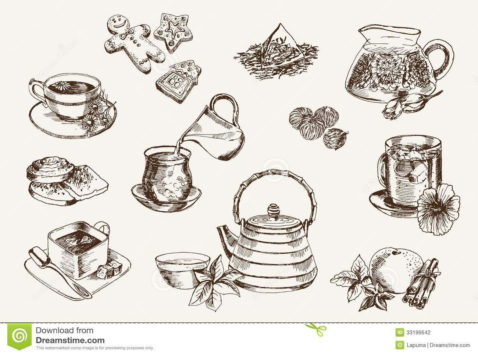 Some types of tea