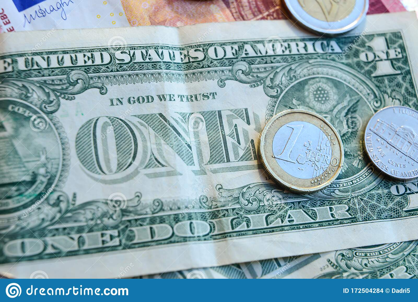 euro coins to us dollars