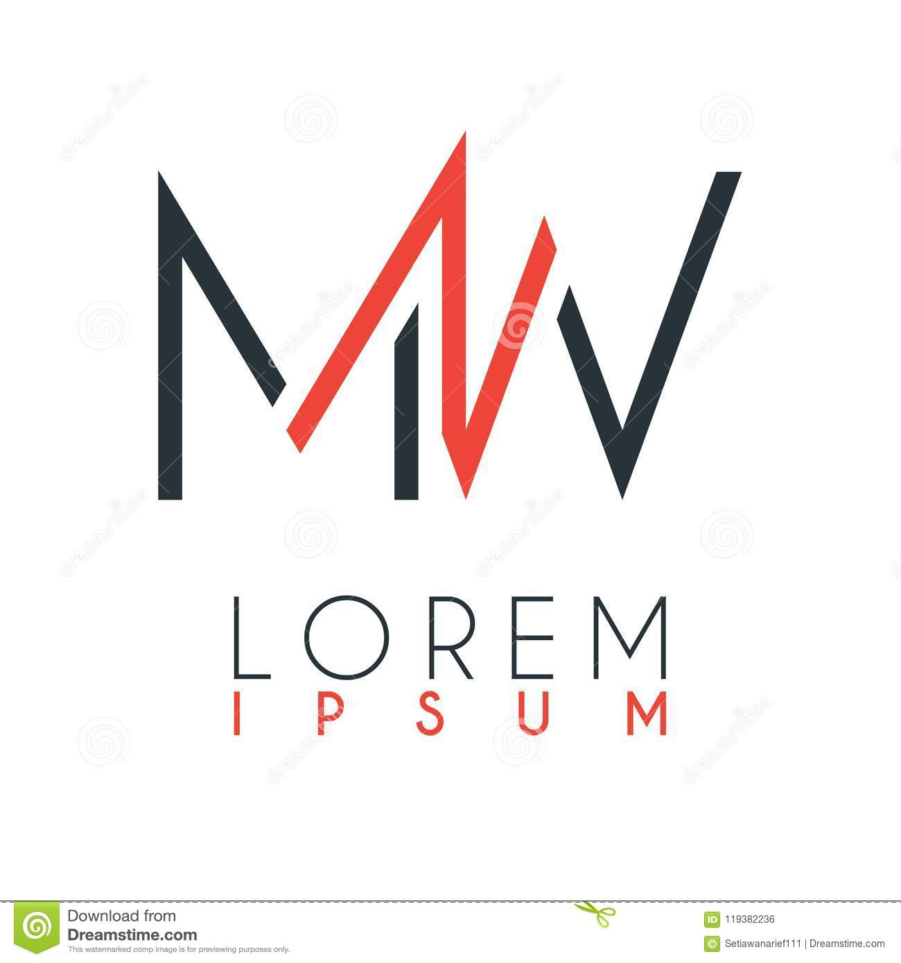 the logo between the letter m and letter w or mw with a certain distance and connected by orange. Black Bedroom Furniture Sets. Home Design Ideas