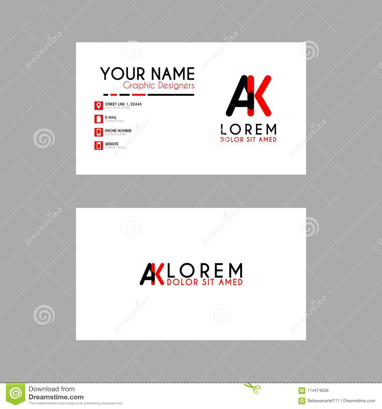 download comp - Simple Business Card