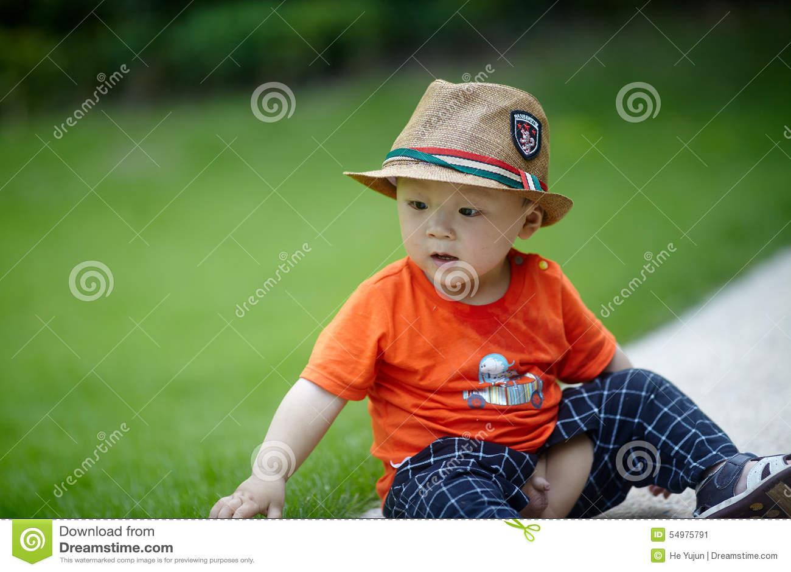 Sommar behandla som ett barn pojken