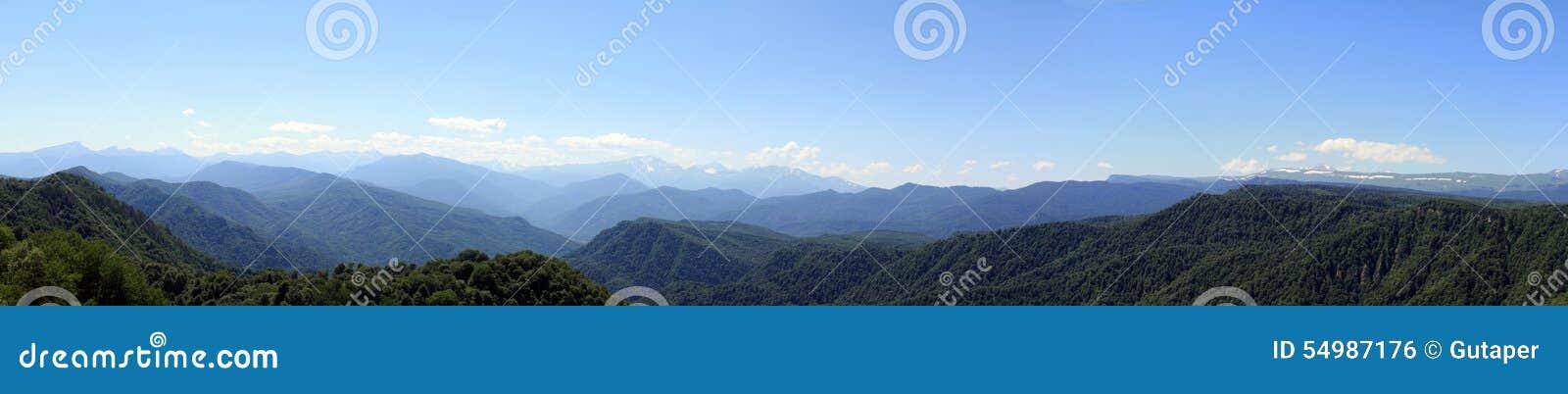 Sommar i bergen