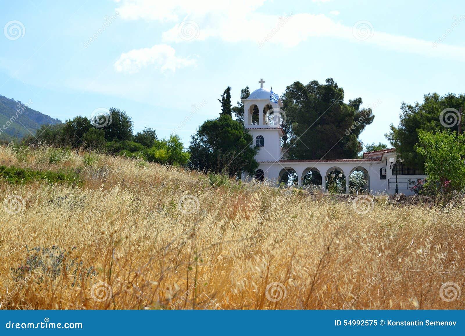 Sommarlandskap i Grekland
