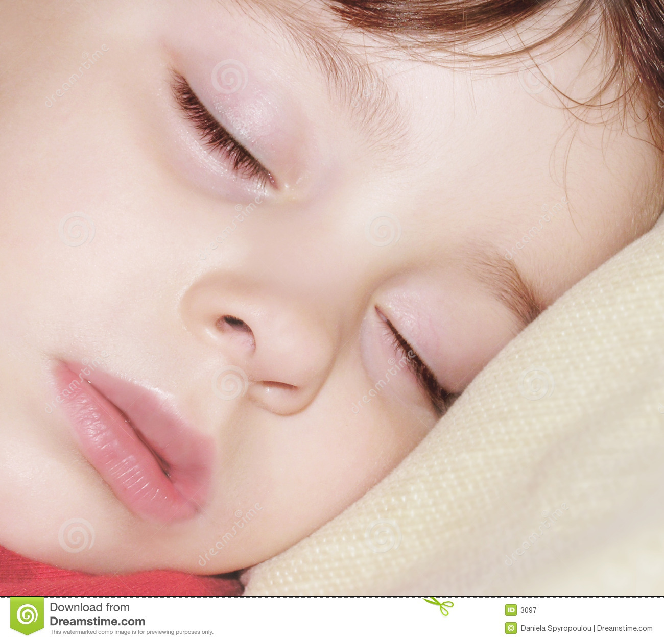 Download Sommeil d'ange image stock. Image du innocence, innocent - 3097