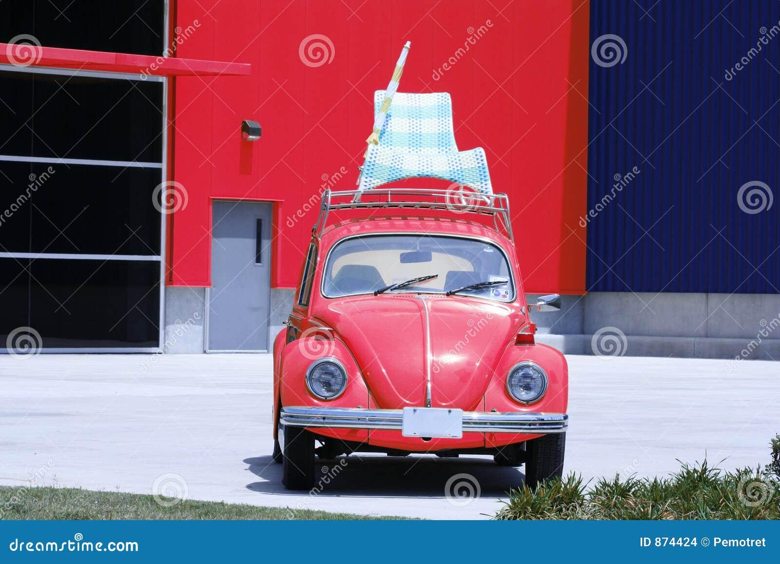 Sommer-Ferien-Auto