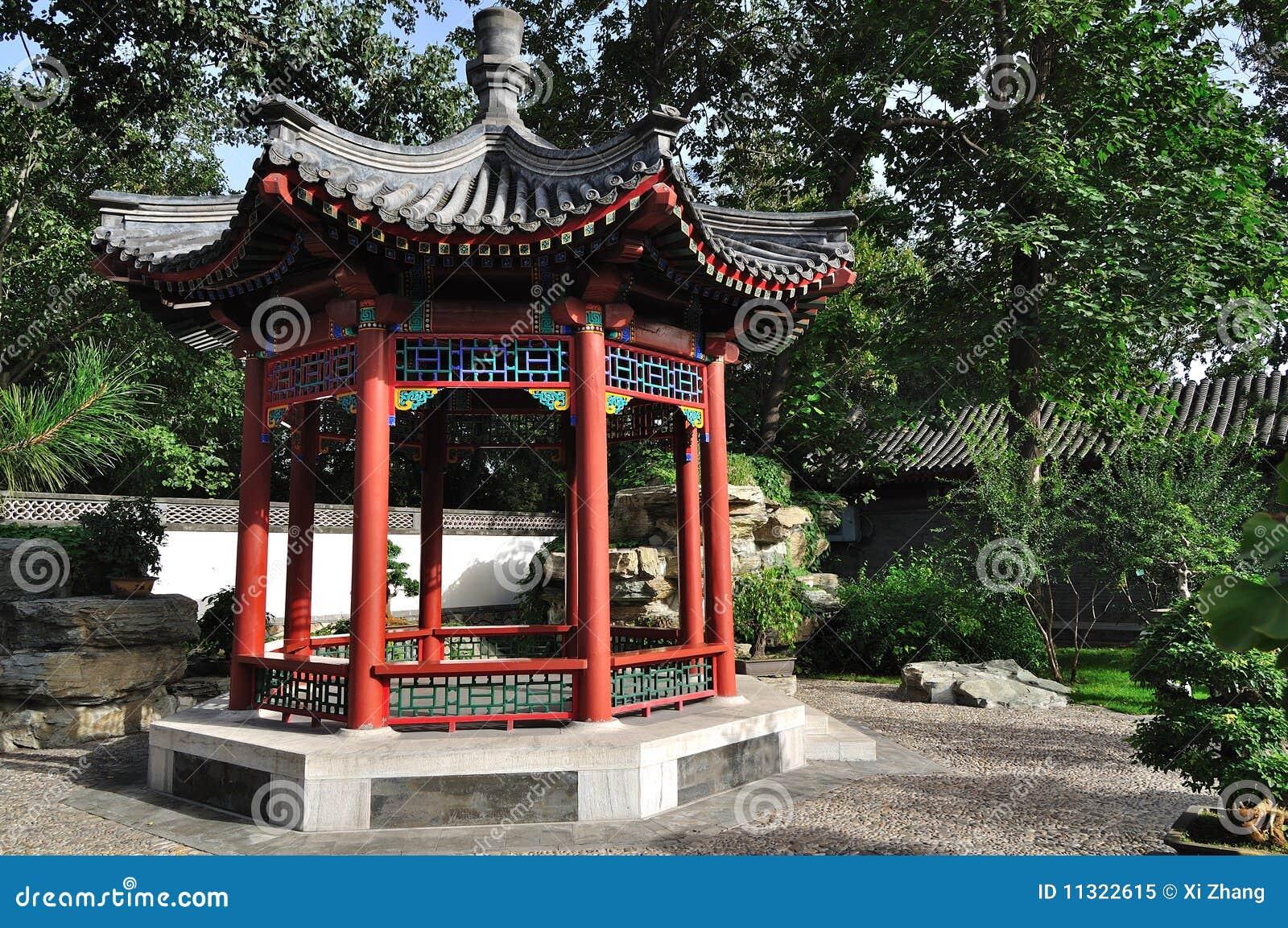 Sommer-Palast Chineses Pavillion