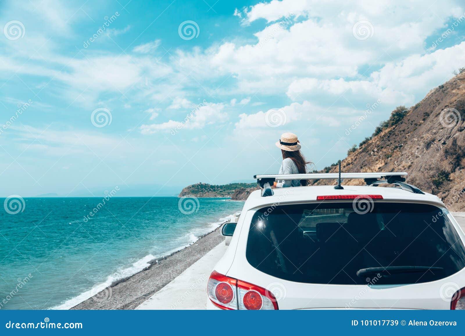 Sommer roadtrip zum Strand