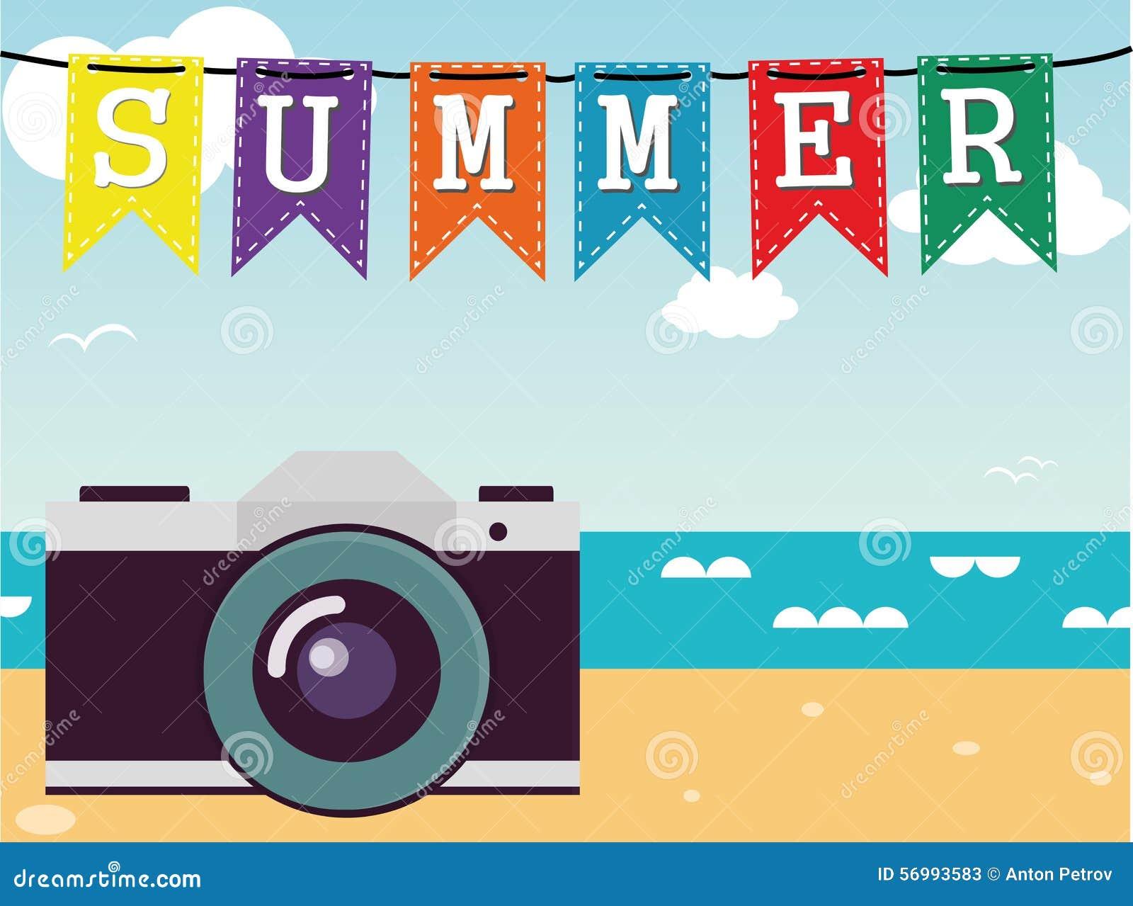 Sommer Vektor