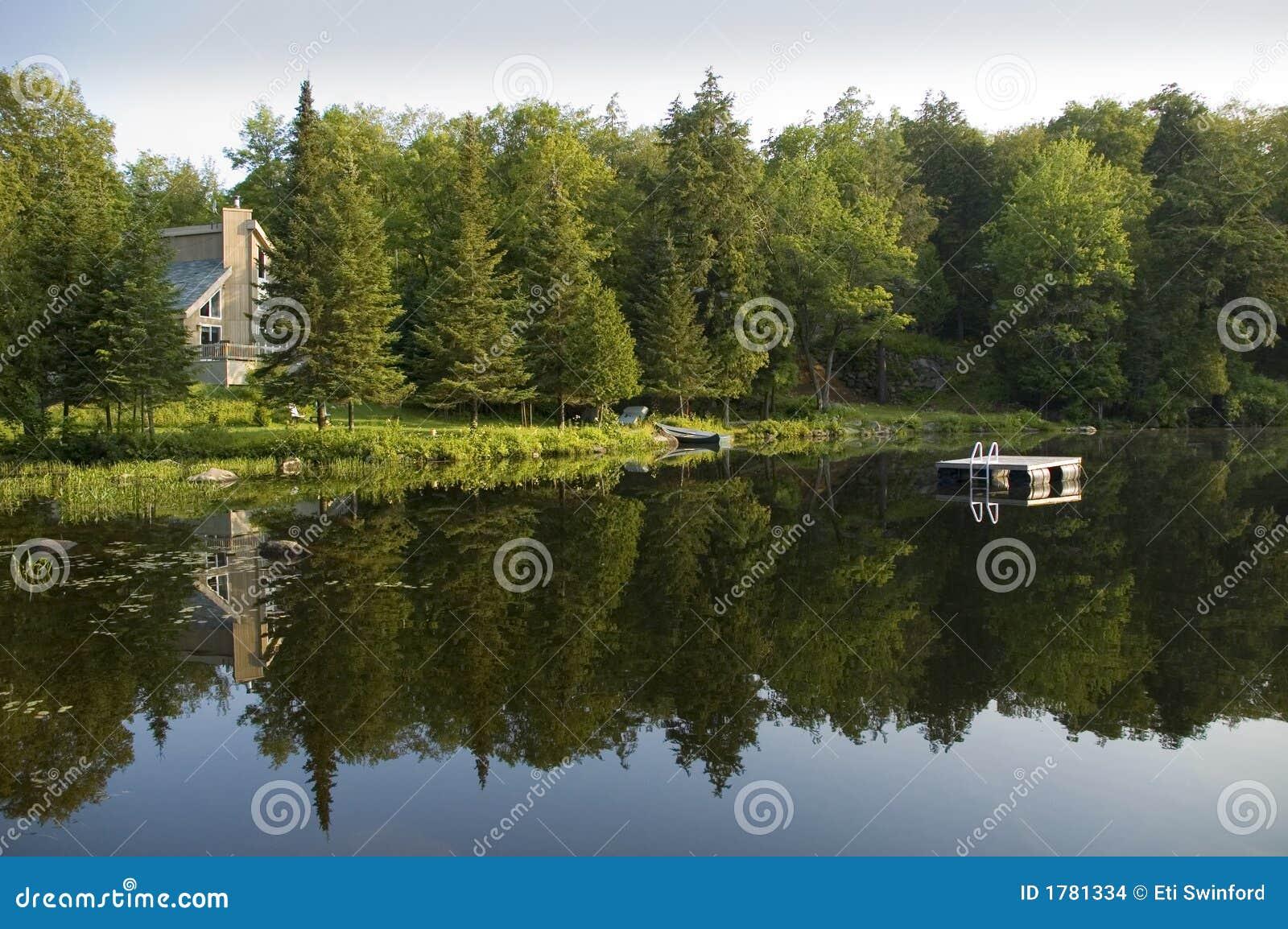Sommerhaus auf dem See