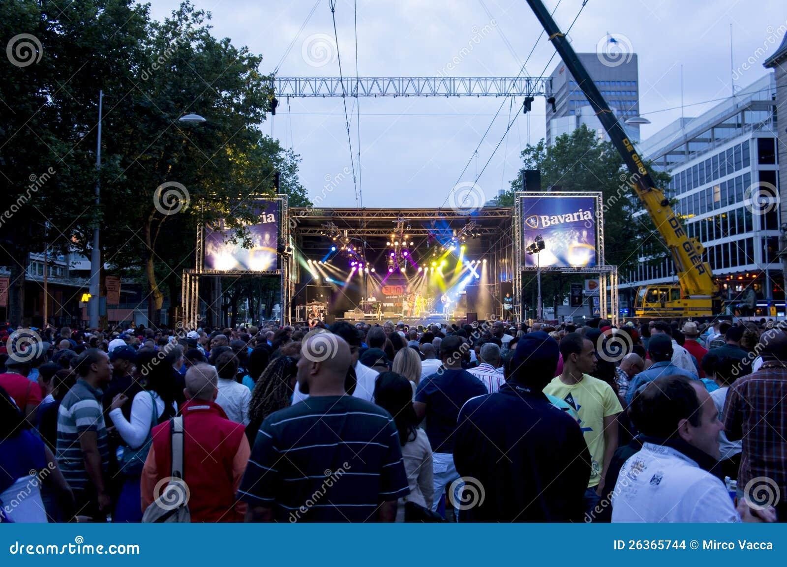 Sommerkarnevalskonzert in Rotterdam