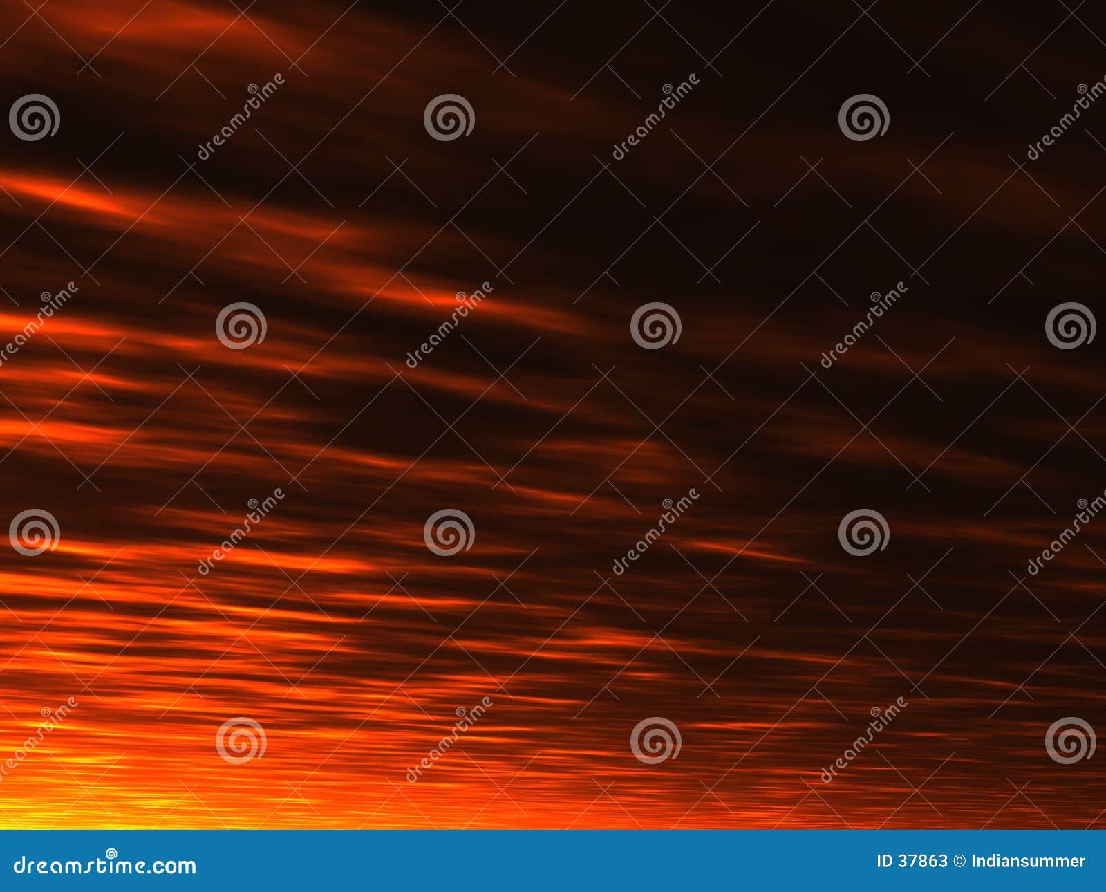 Sommersonnenunterganghintergrund