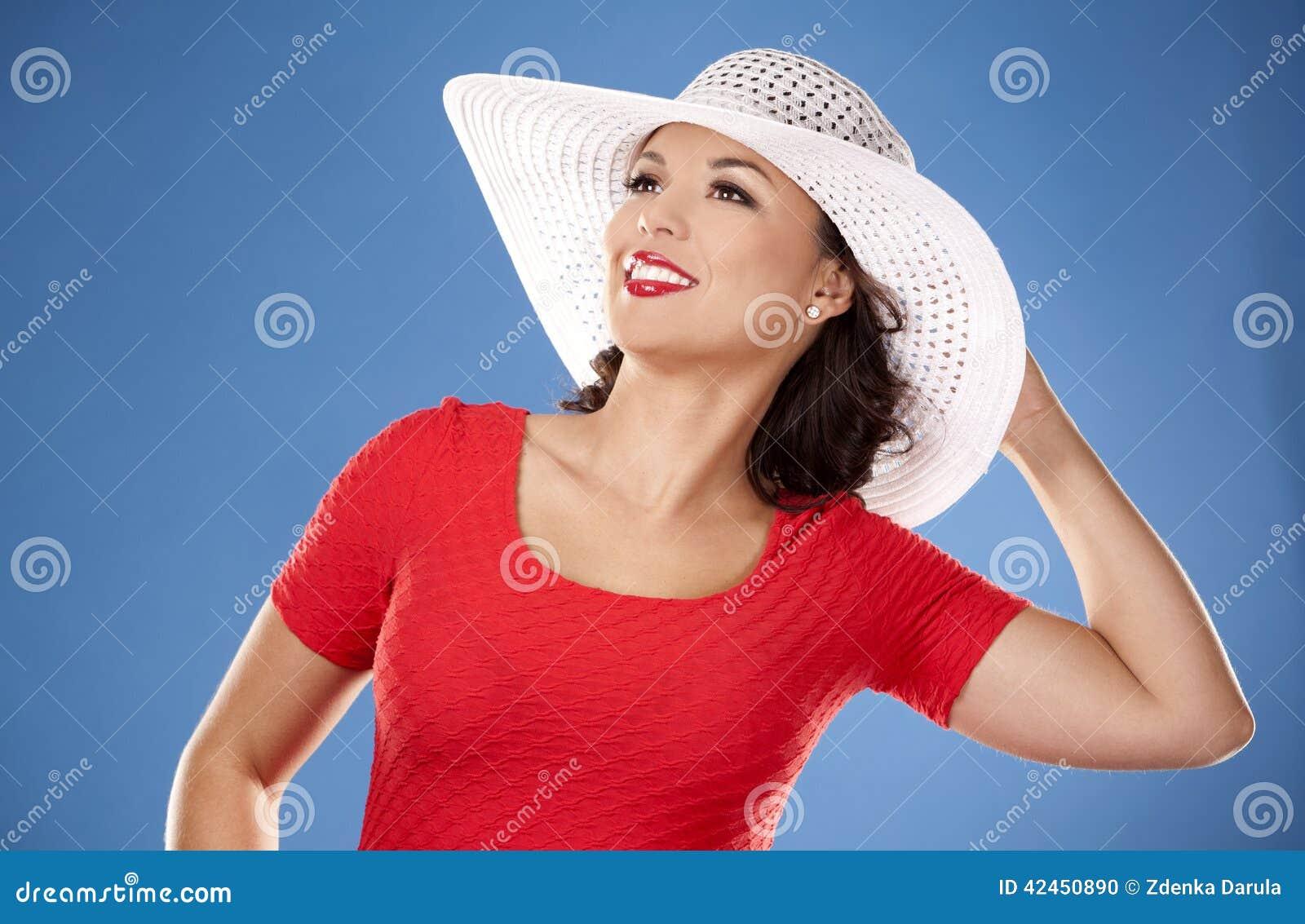 Sommerstrandfrau