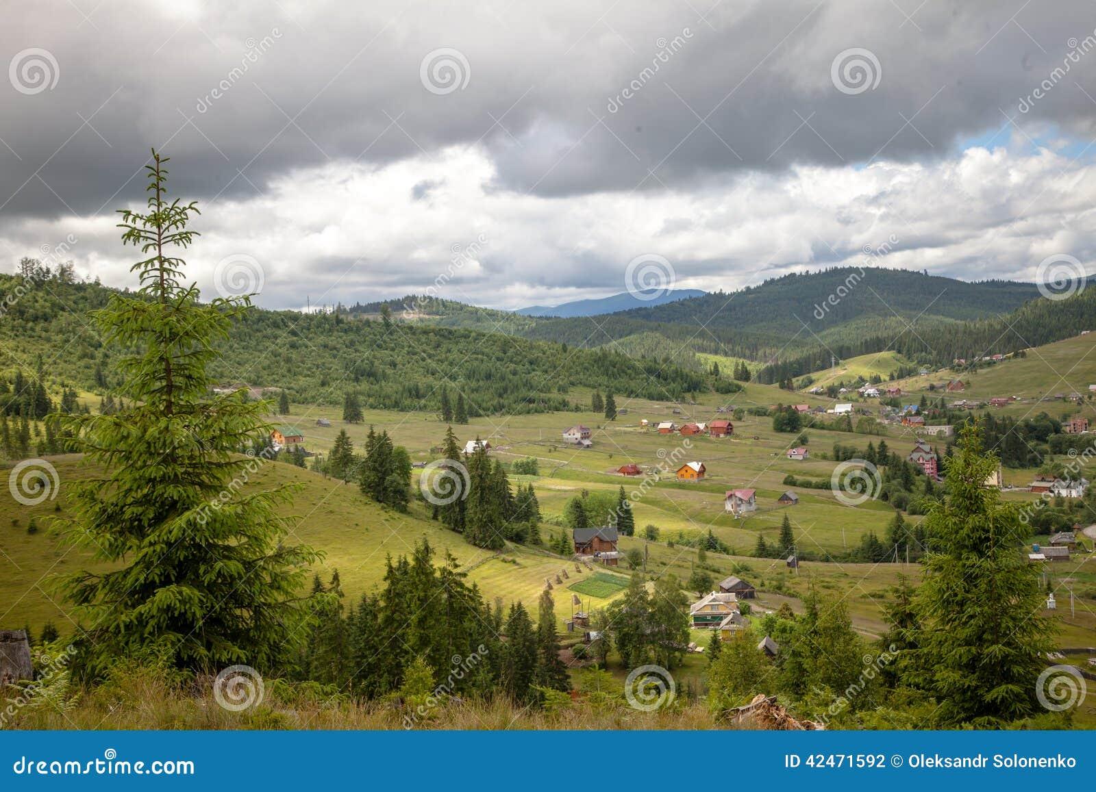 Sommertag in den Karpatenbergen