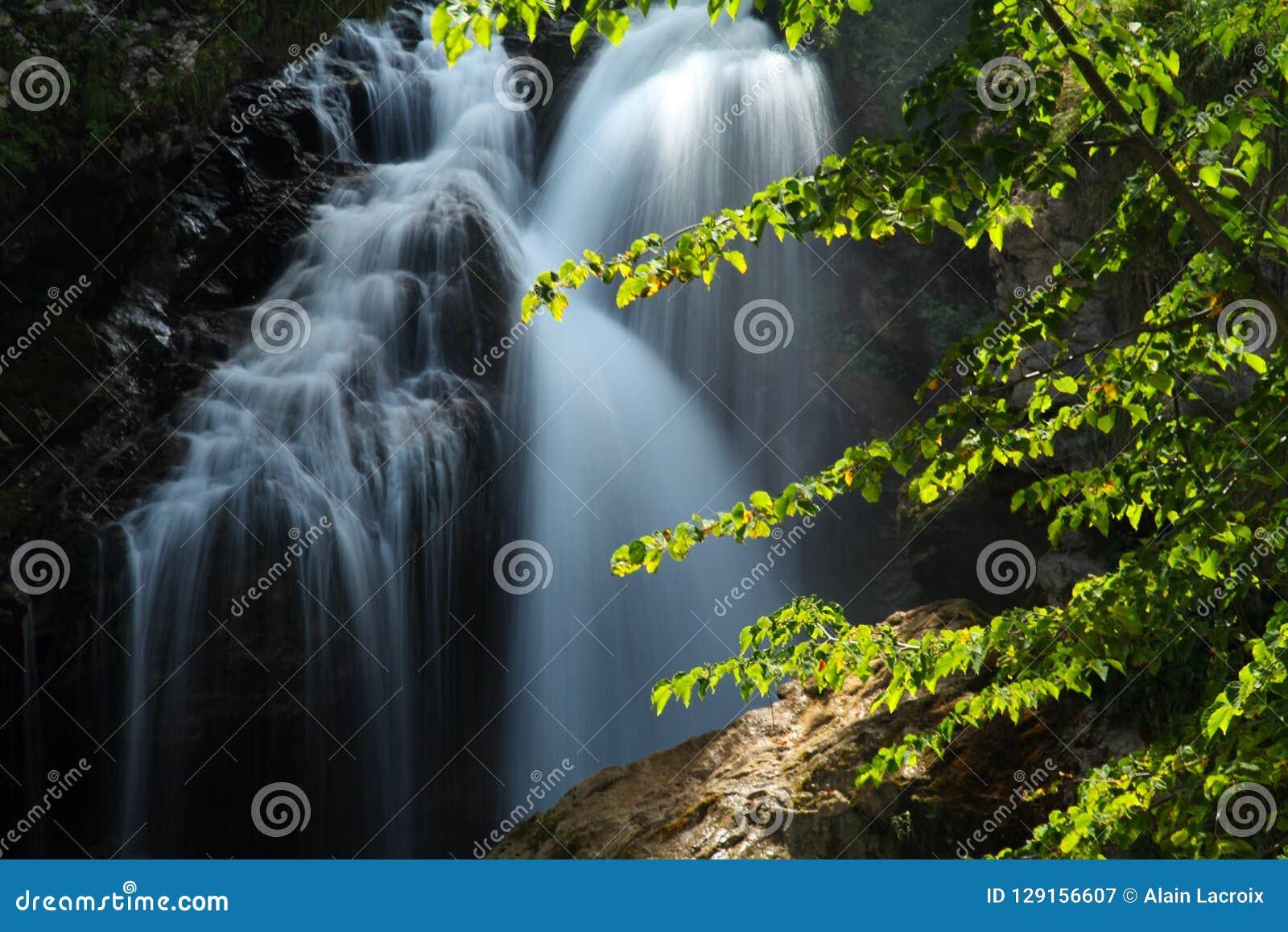 Sommerwasserfall-Brautschleier