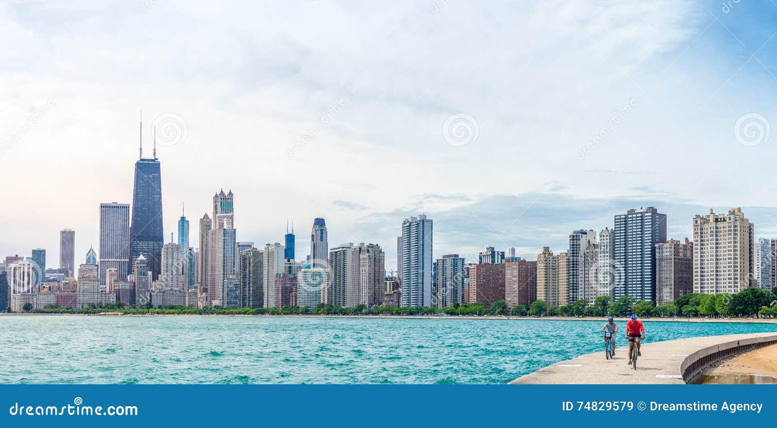 Sommerzeit in Chicago
