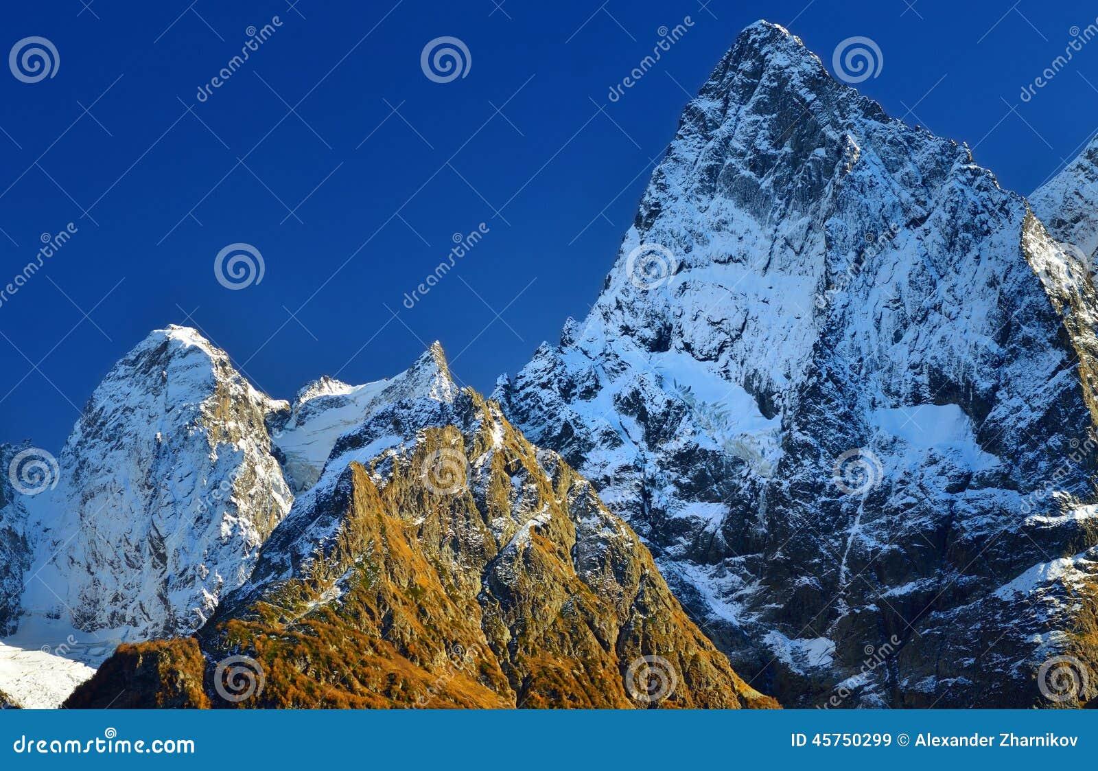 Sommità di Caucaso