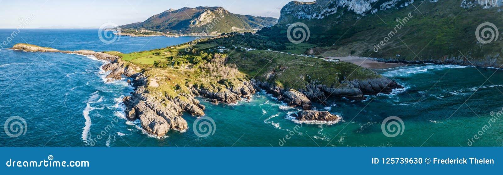 Somo Surfspot Spain Vanlife Stock Photo - Image of atlantic