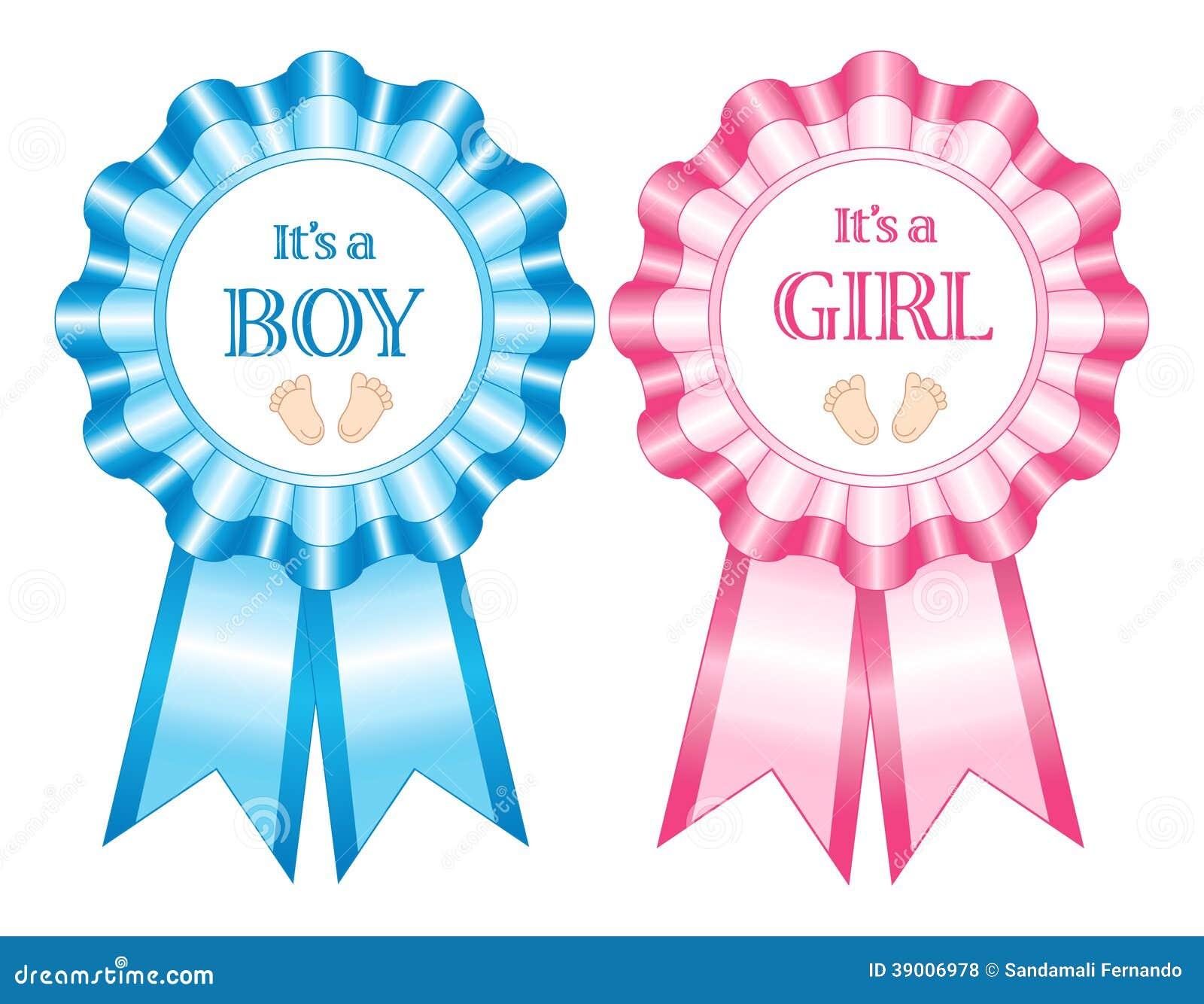 Son rosettes d un garçon et de fille