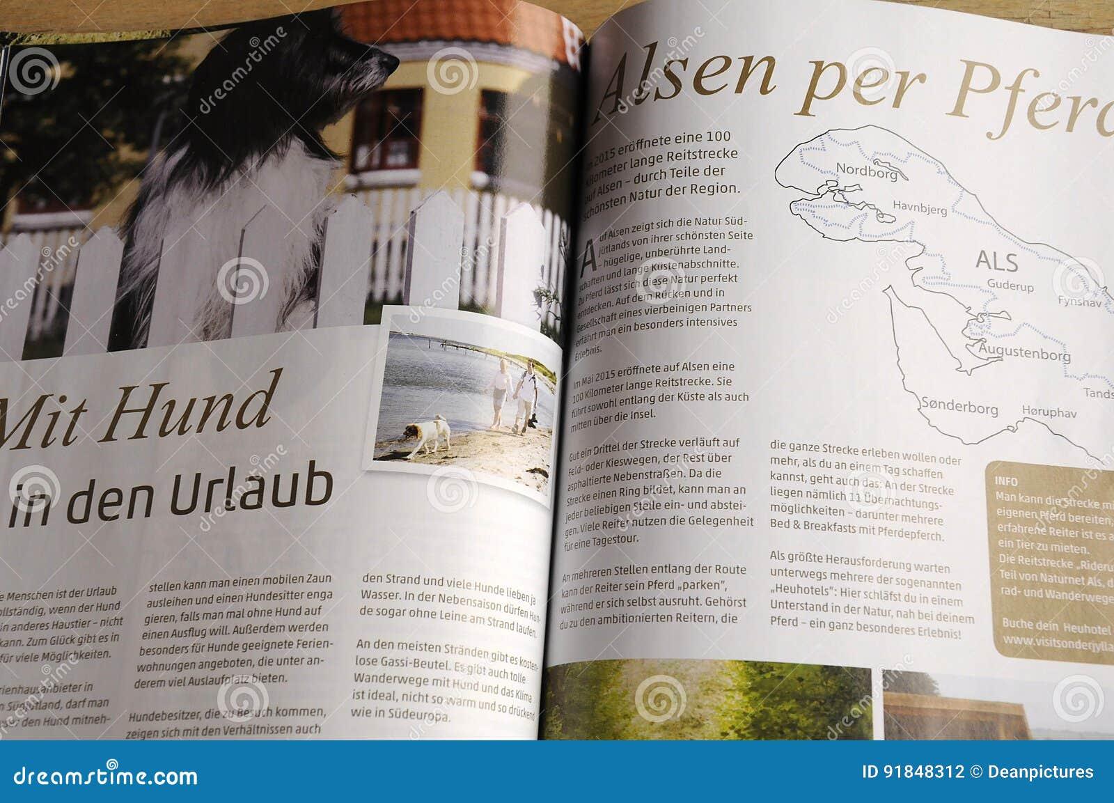 SONDERJYLLAND katalog W NIEMCY języku