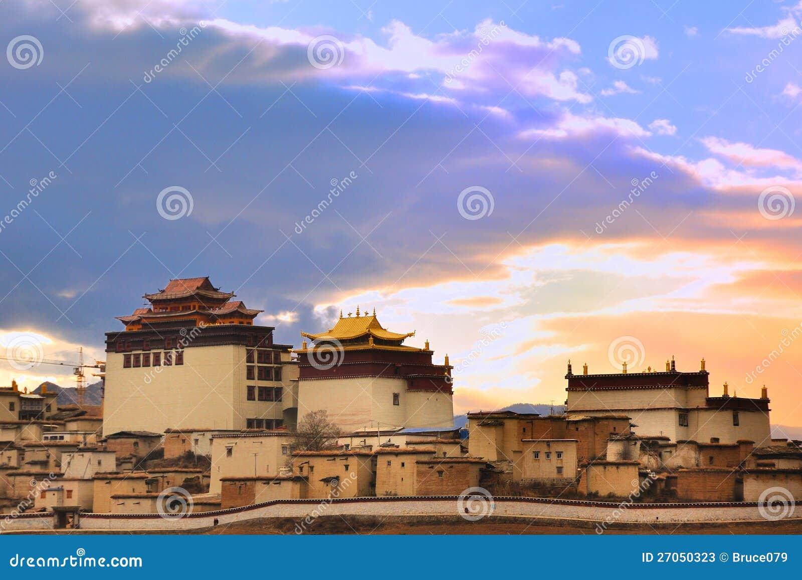 song zan lin temple in Shangri-la
