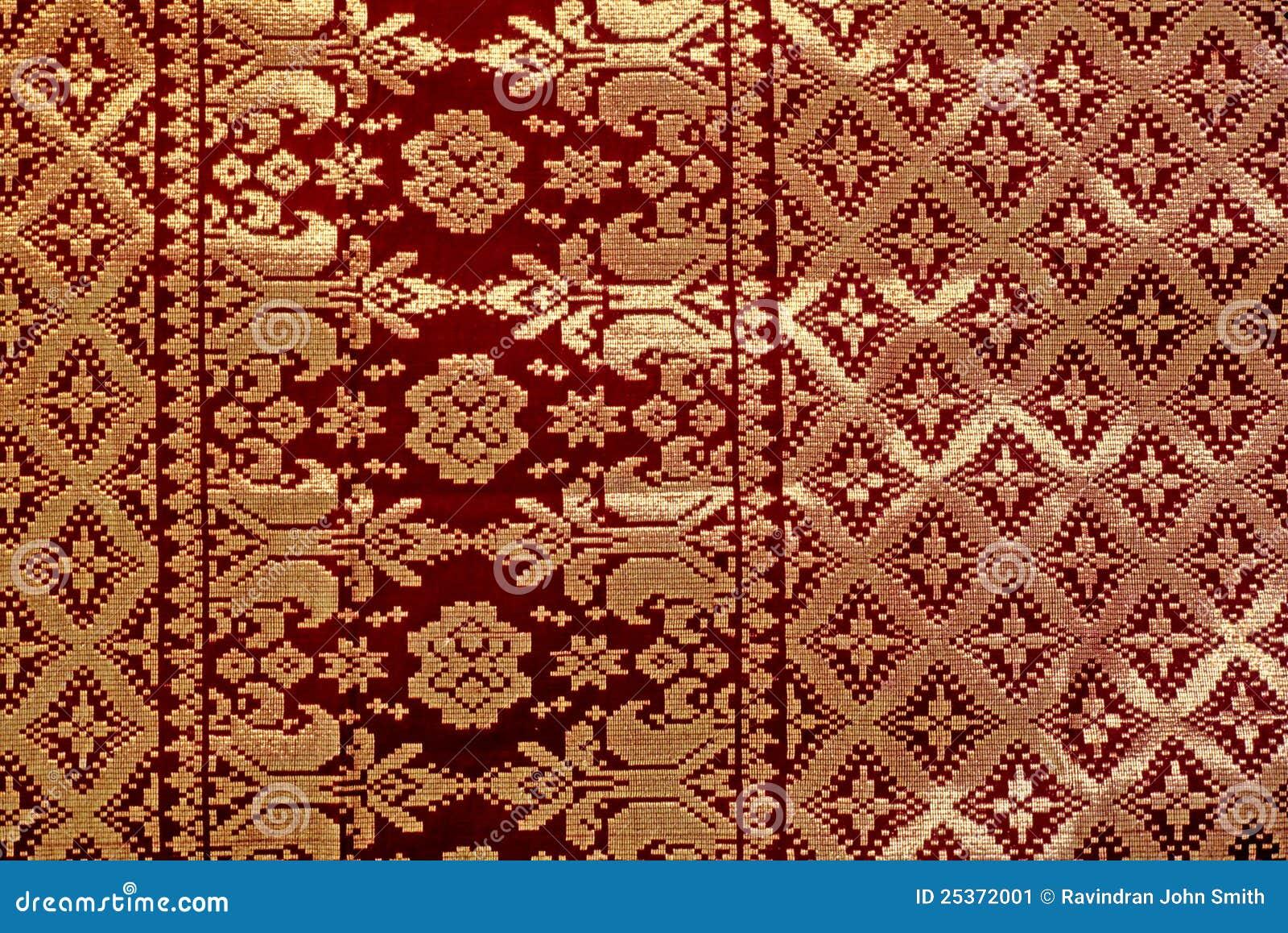 Songket Fabric Stock Image - Image: 25372001