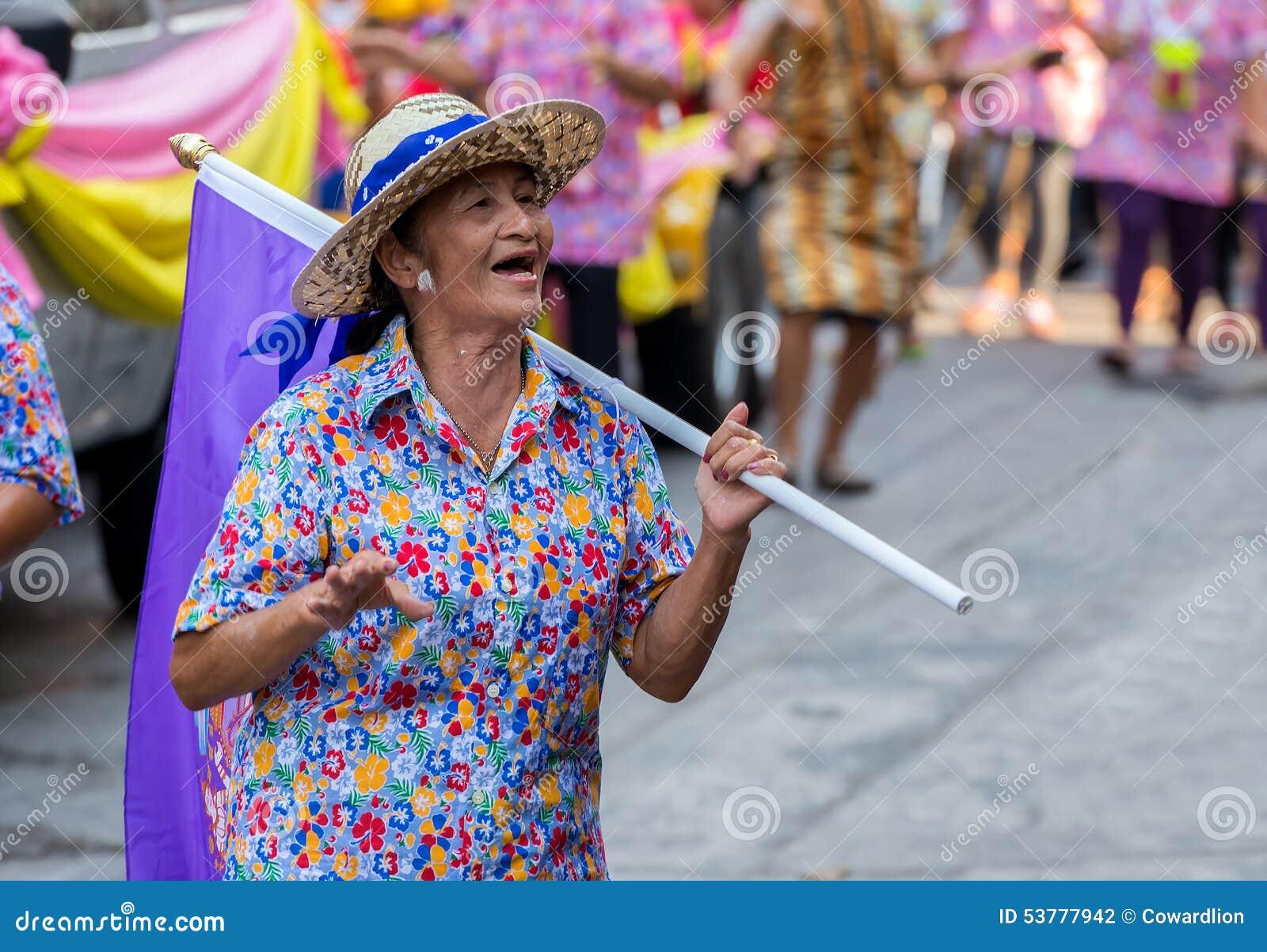 Songkran festiwal w Bangkok
