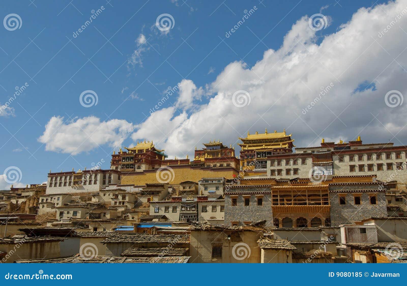 Songzanlin tibetanisches Kloster, Shangrila, Porzellan