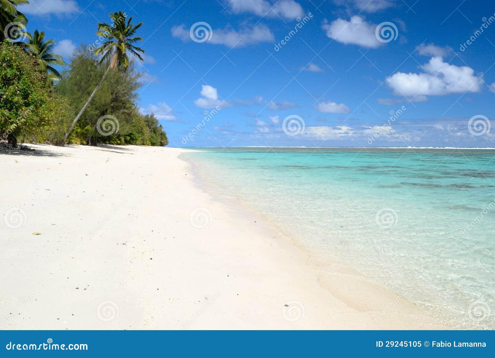 Download Sonhando Ilhas Cook imagem de stock. Imagem de azul, afastado - 29245105