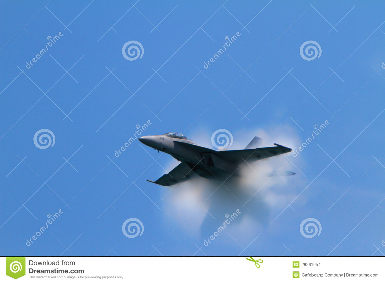 Sonic Boom at the Chicago Air Show -Motion Blur