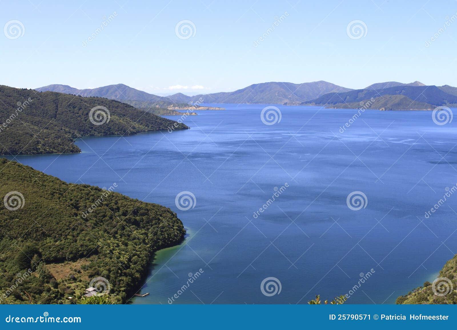 Sonidos de Marlborough en Nueva Zelandia