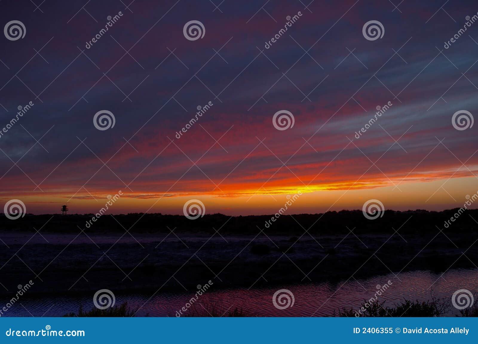Sonnenaufgänge und Sonnenuntergang