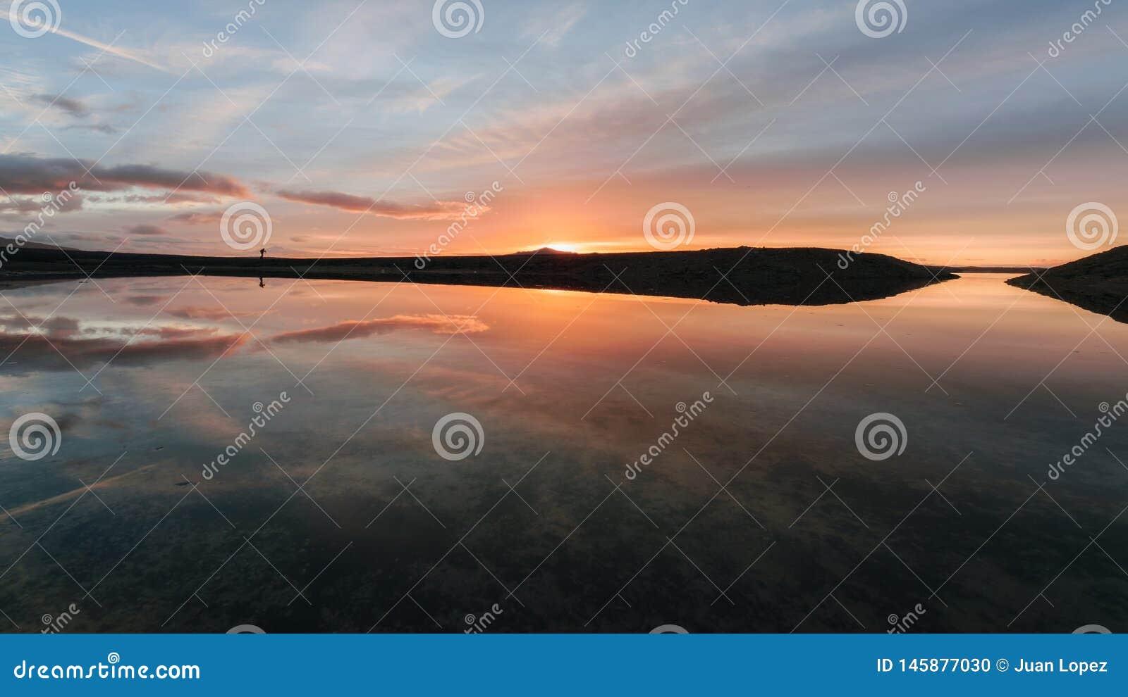 Sonnenaufgang auf der Lagune