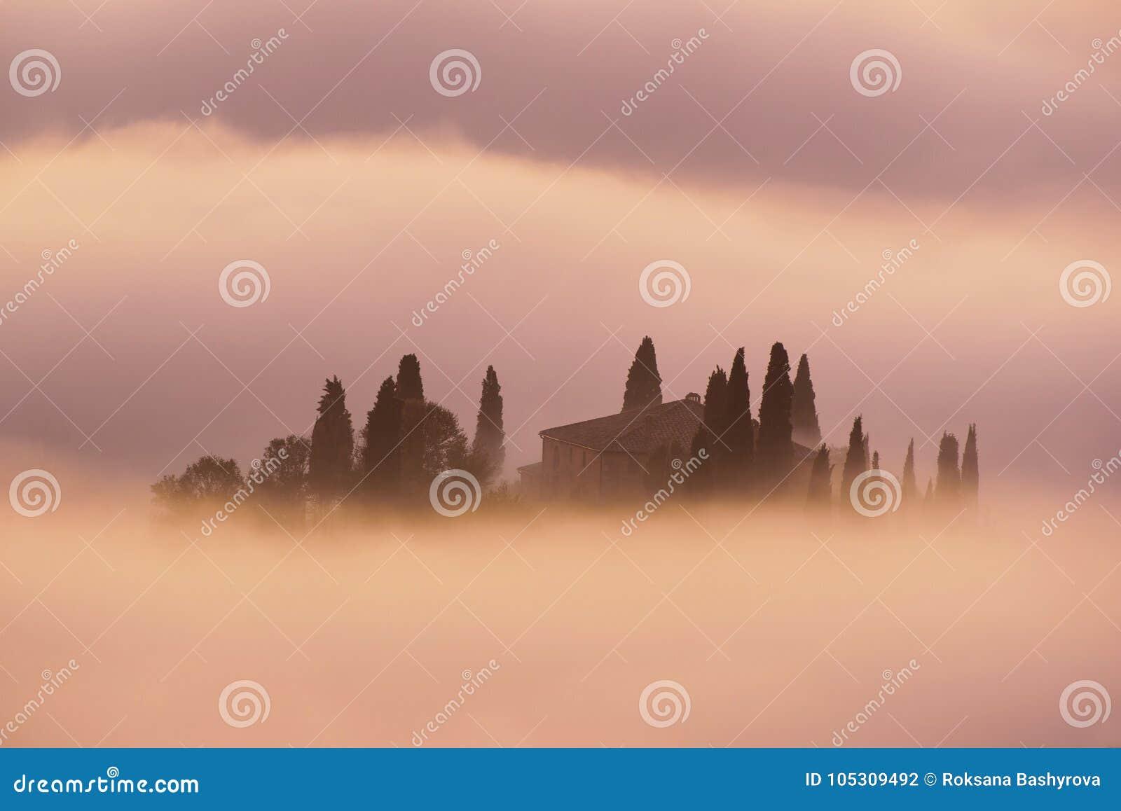 Sonnenaufgang in Italien