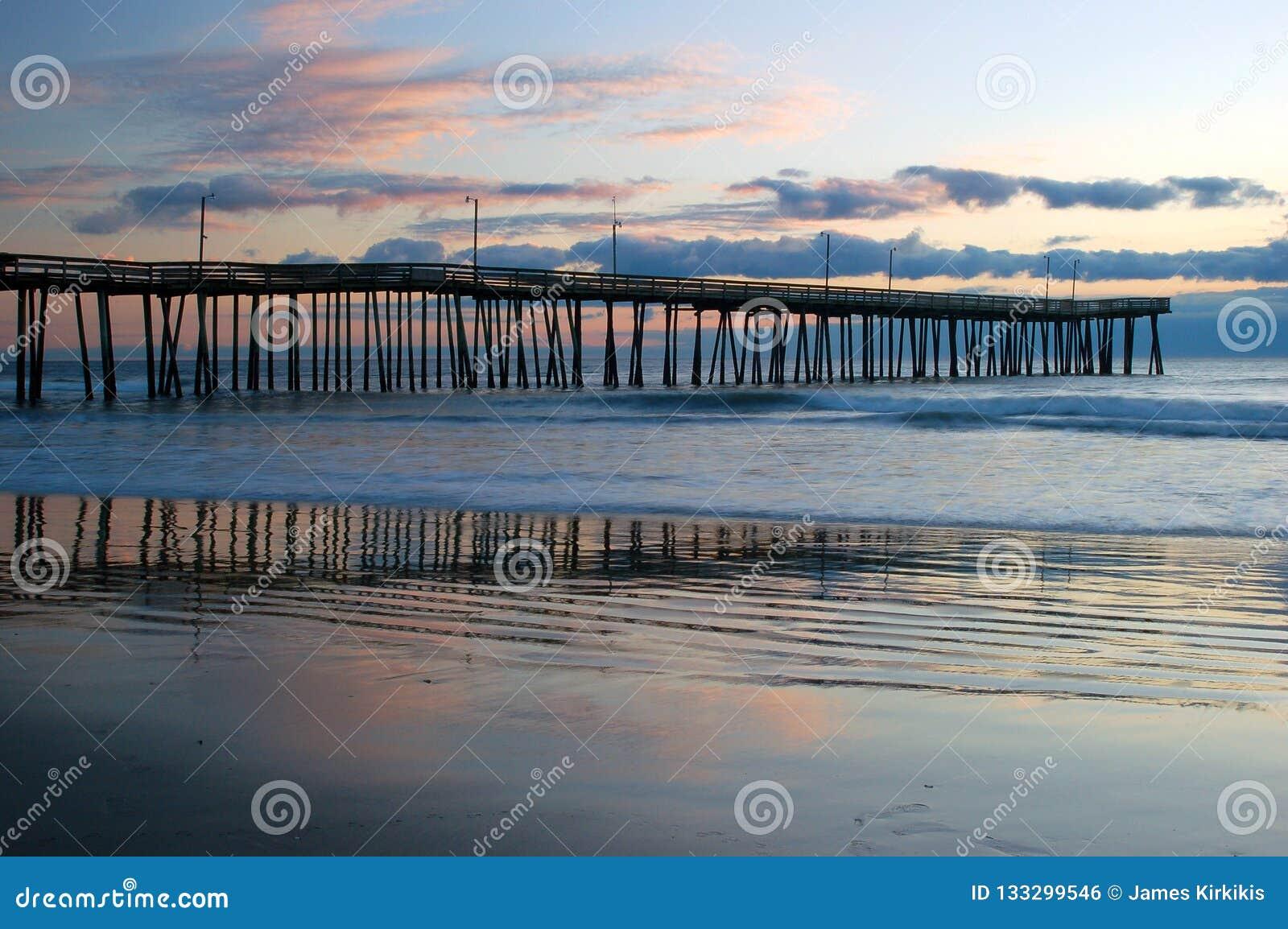 Sonnenaufgang am Pier