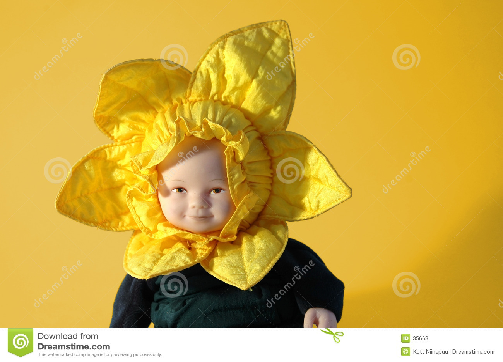 Sonnenblume-Puppe