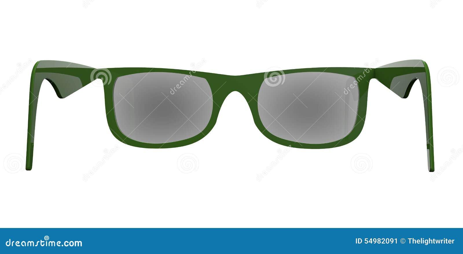 Sonnenbrillen auf einem hinteren Boden