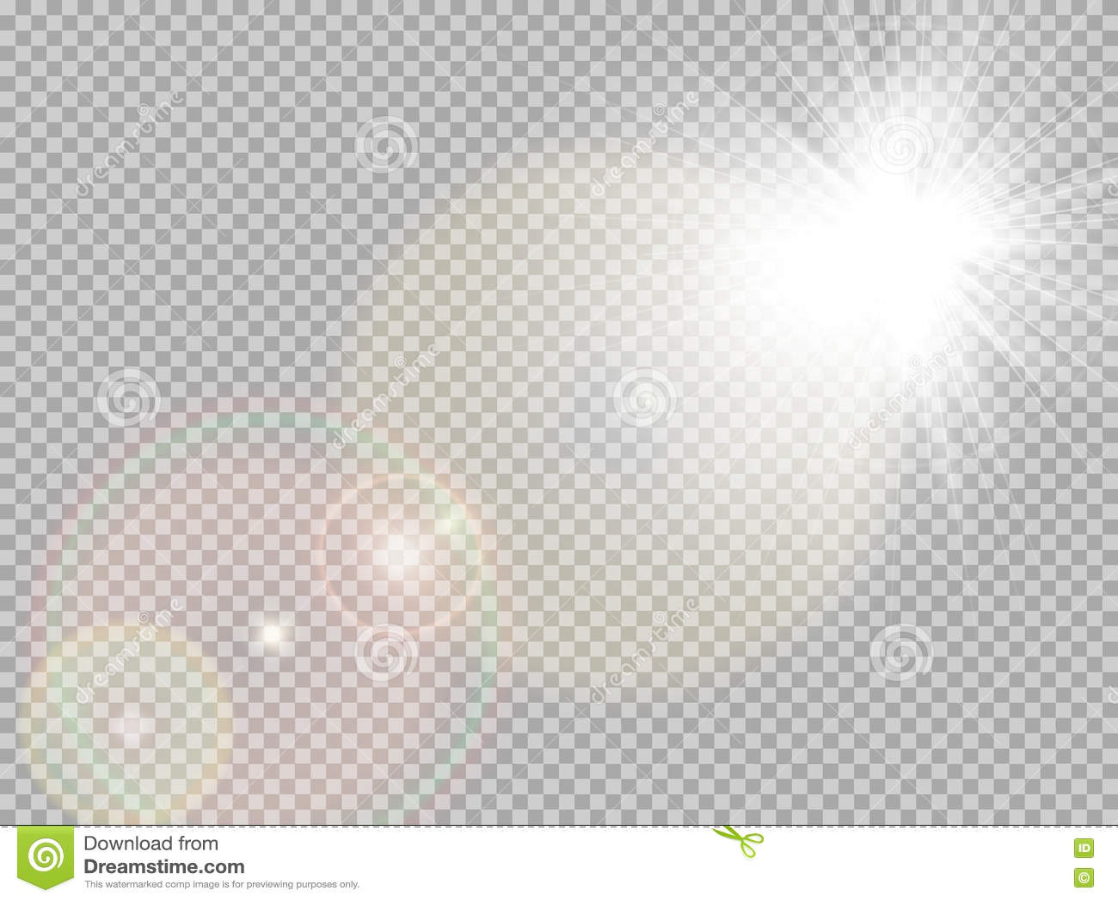 Sonnenlicht Specialblendenfleck ENV 10