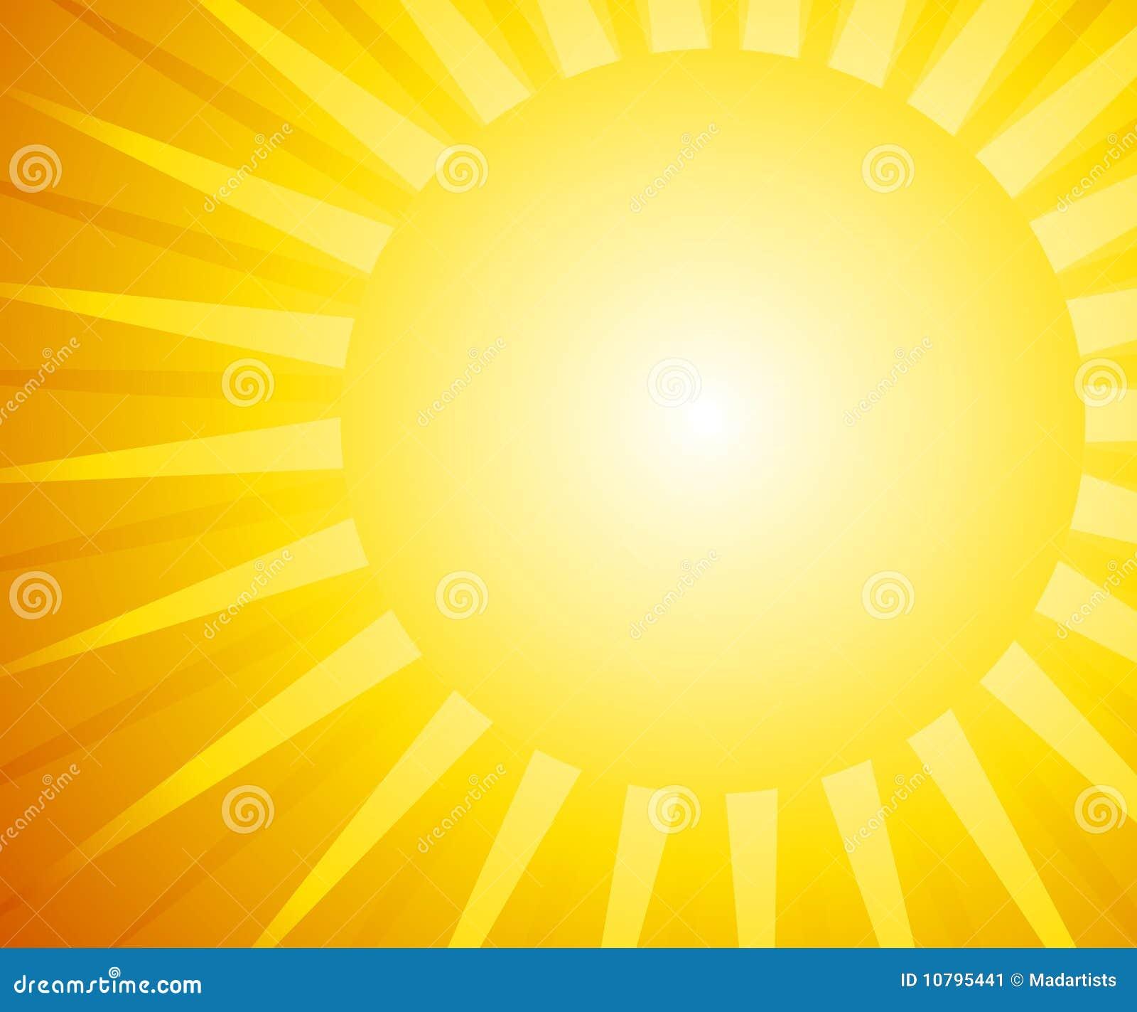 Sonnenschein-Hintergrund